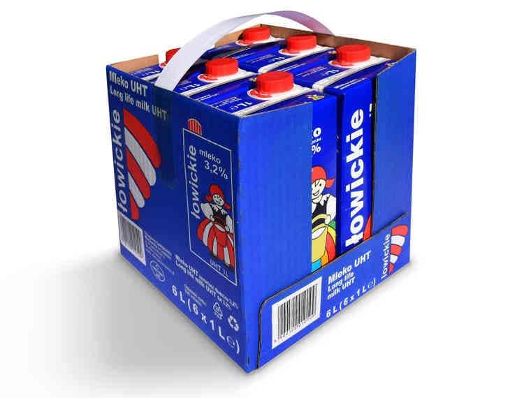 Łowicz Mleko UHT 3,2% (cena za 1 szt. w 6-paku)