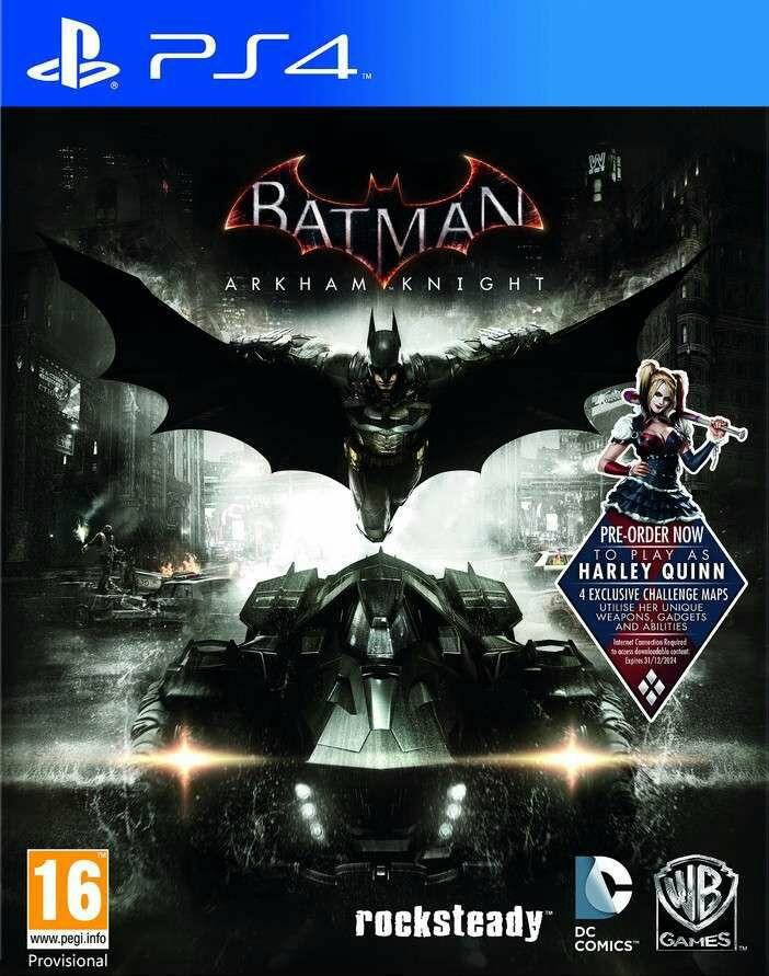 BATMAN: ARKHAM KNIGHT w PSN US