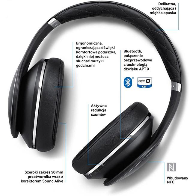 Słuchawki Samsung Level Over-Ear Bluetooth 700zł taniej @ X-Kom