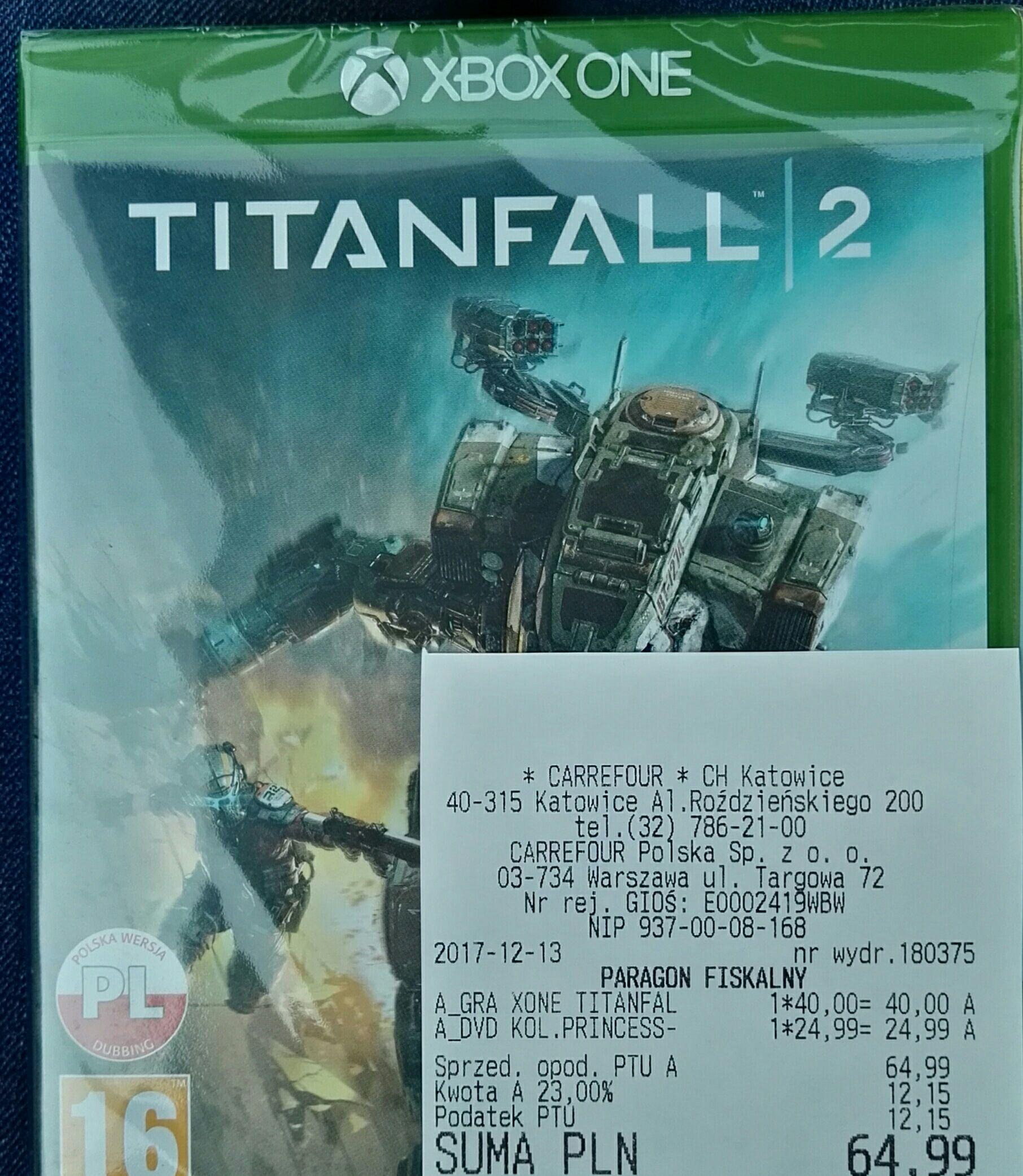 Titanfall 2 po polsku XBOX ONE