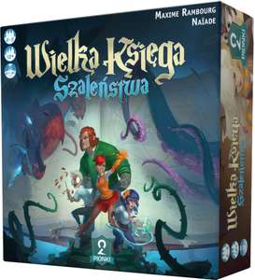 Gra planszowa Wielka Księga Szaleństwa i kilka innych w dobrych cenach @ muve.pl