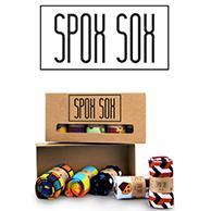 Skorzystaj z 20% zniżki* na zakup unikatowych, kolorowych skarpet Spox Sox.