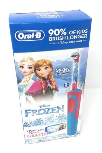 Szczoteczka elektryczna dla dzieci BRAUN Oral-B + piórnik Frozen gratis!!