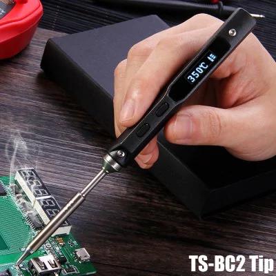 Lutownica TS100 65W OLED TS-BC2/TS-B2 @gearbest.com