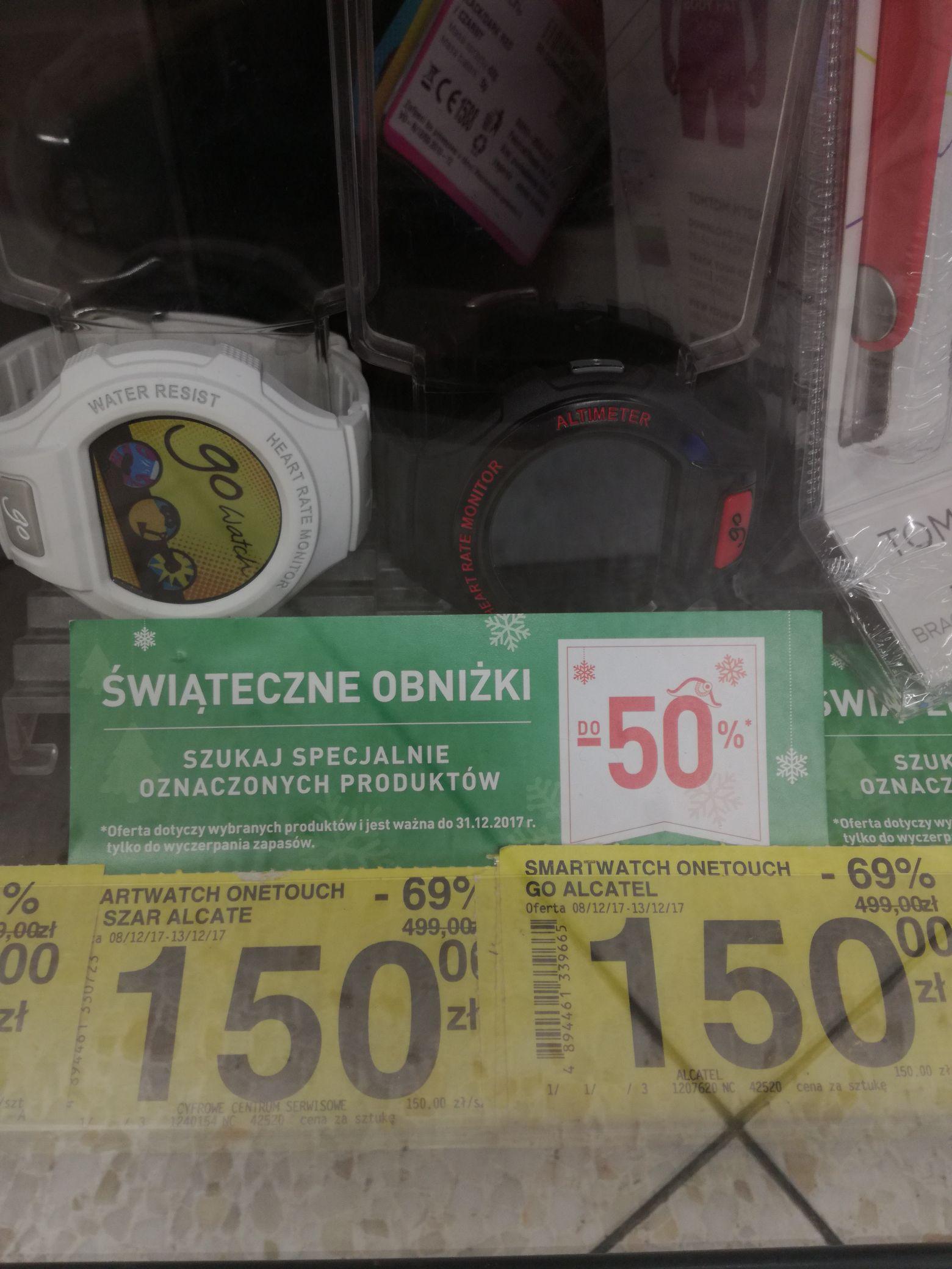 Smartwatch onetouch go Alcatel