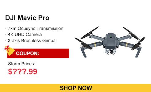 DJI Mavic Pro Mini RC Quadcopter  -  MAVIC PRO ONLY  GRAY