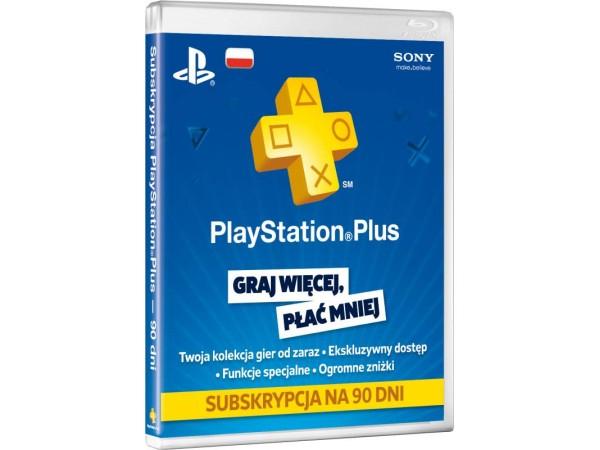 Sony Playstation Plus abonament na 90 dni za 45 zł @ neo24.pl
