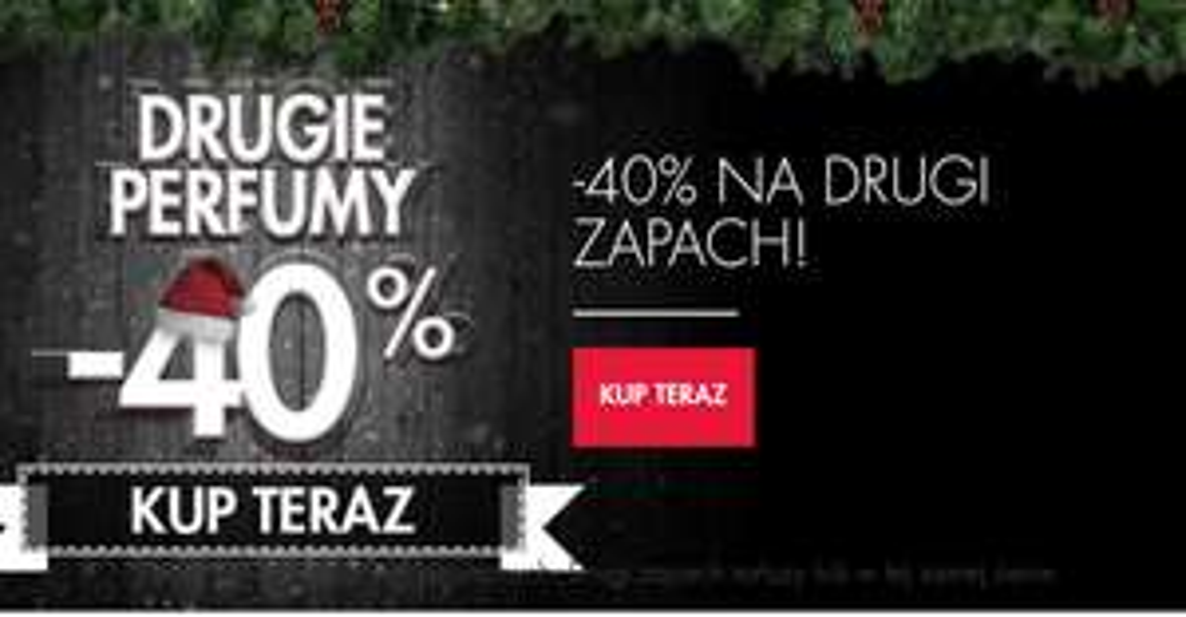 Drugie perfumy -40% @Super-pharm