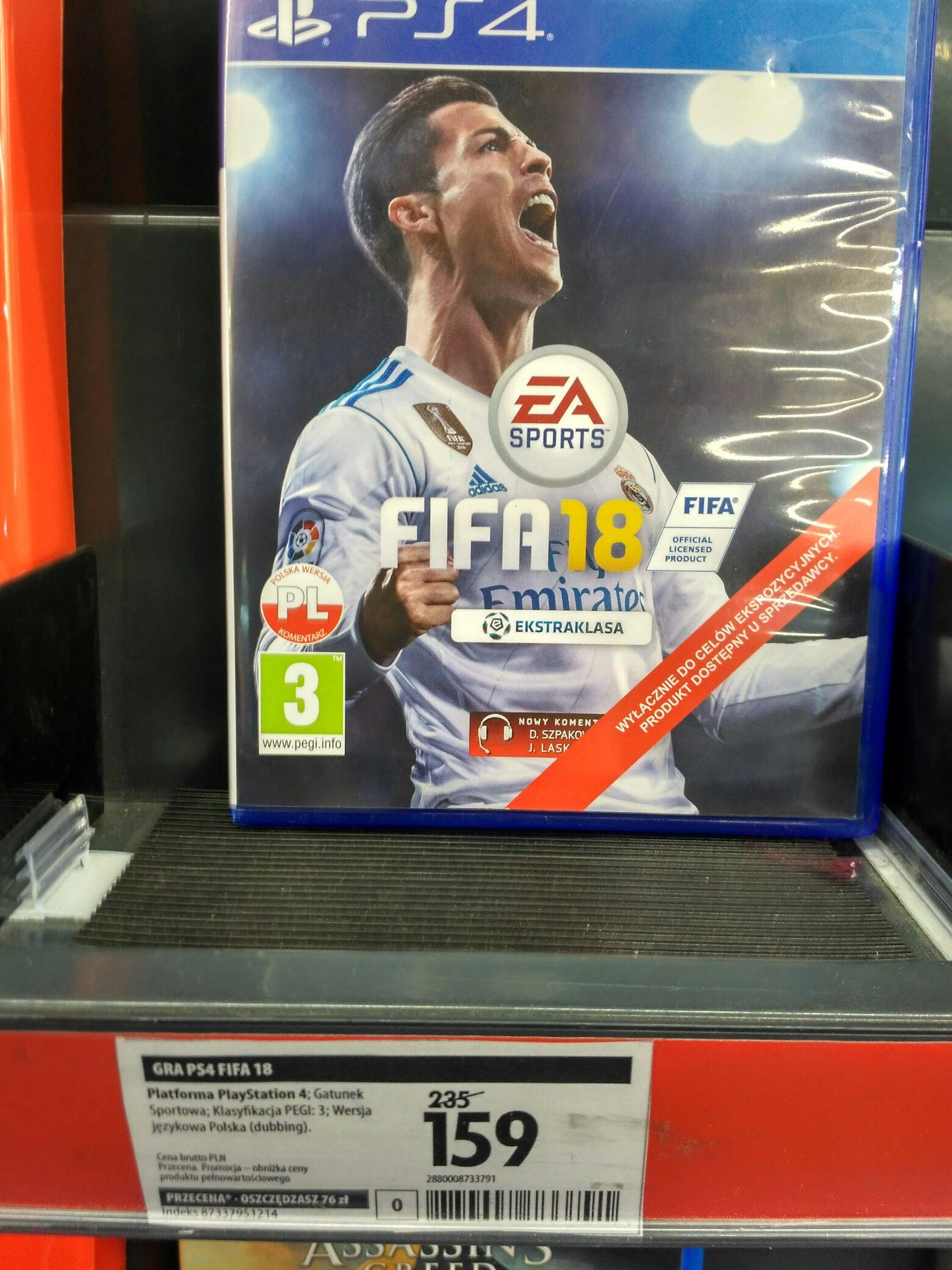 FIFA 18 PS4 Media Expert