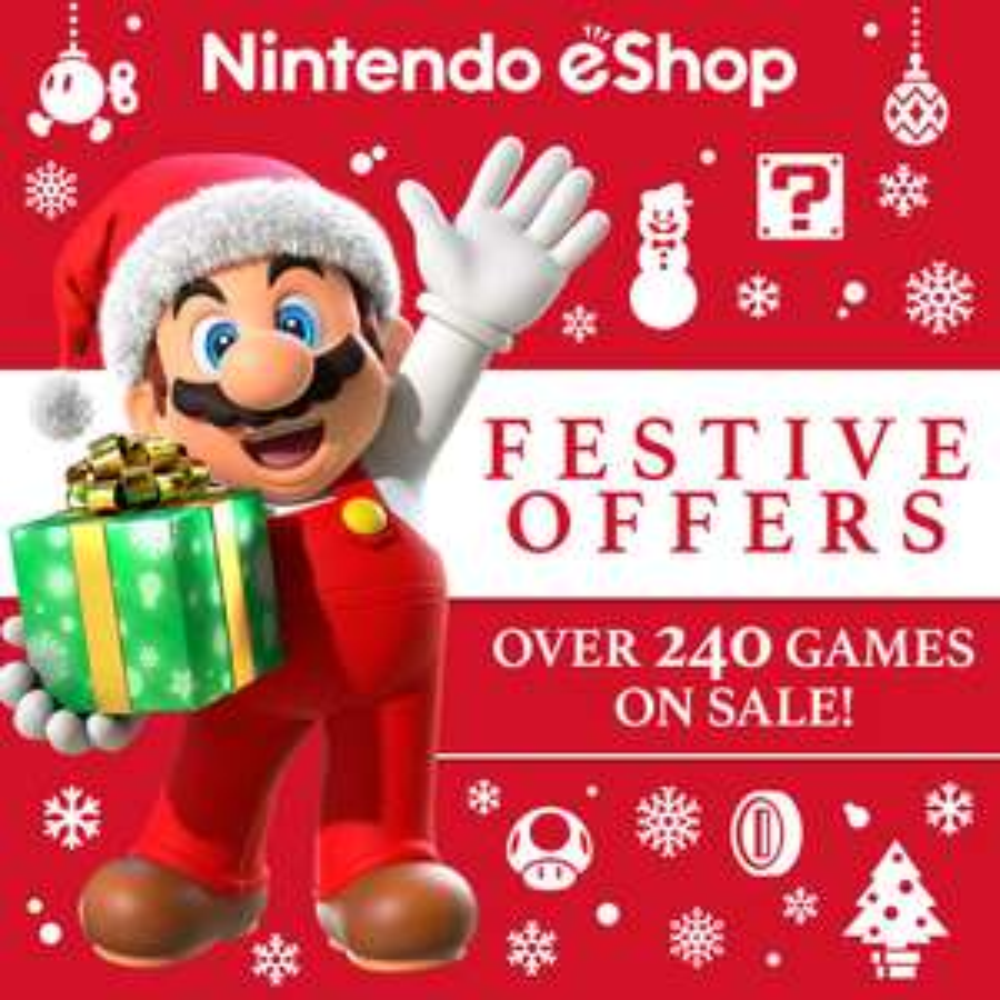 Nintendo - świąteczna przecena gier Festive Offers 2017