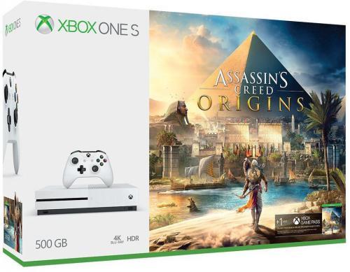 Konsola Microsoft Xbox One S 500GB + Assasin's Creed: Origins  za 290 zł