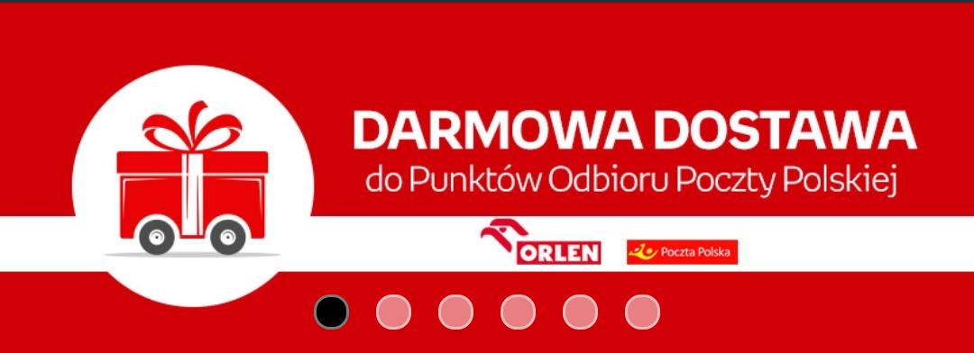 Darmowa dostawa do punktów Poczty Polskiej i Stacji Orlen @Empik.com