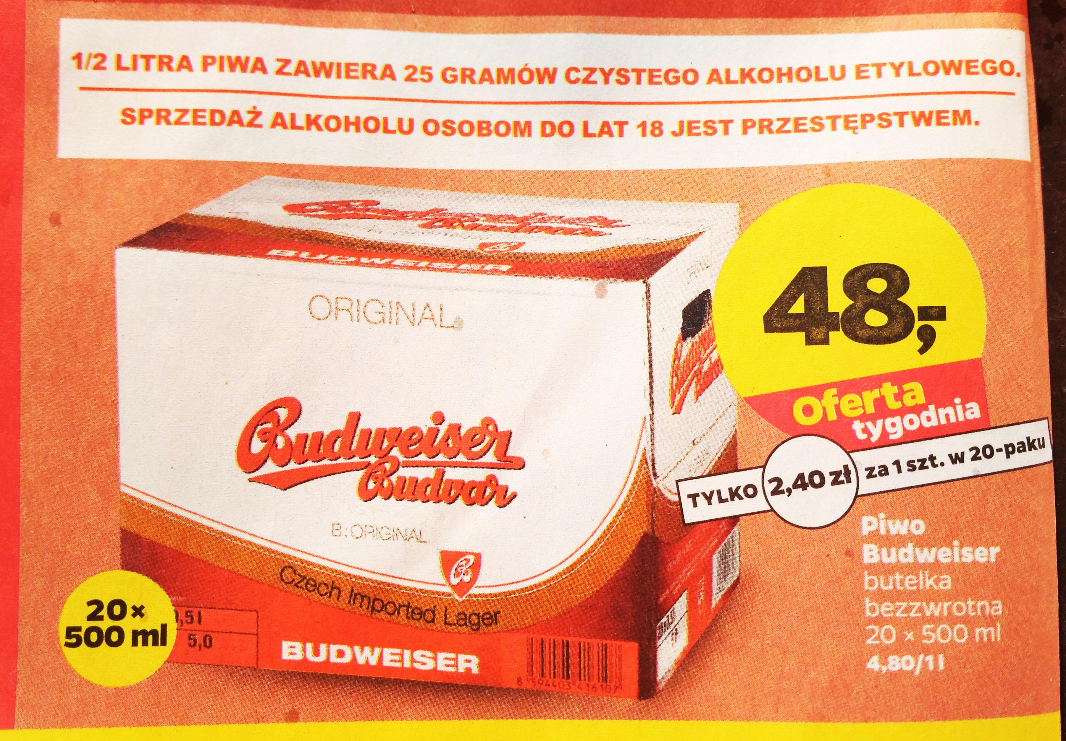 Budweiser @Netto
