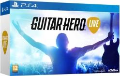 PS4  Guitar Hero Live z jedną gitarą ! Dobra okazja jak ktoś chce siś pobawić gitarą :)