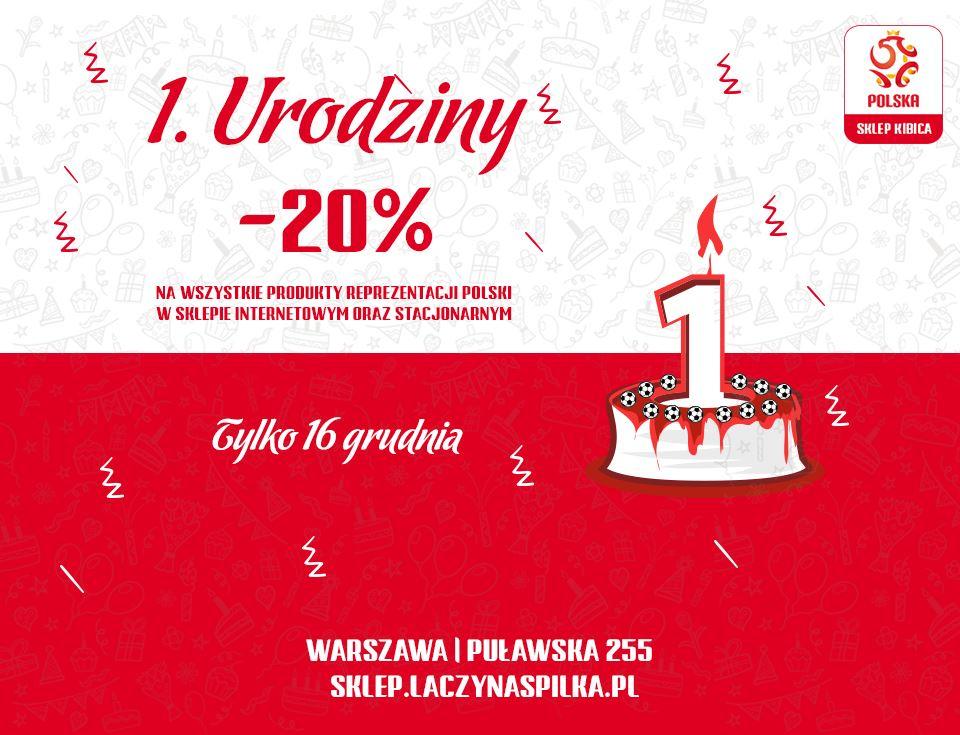 Rabat na koszulki/gadżety reprezentacji Polski
