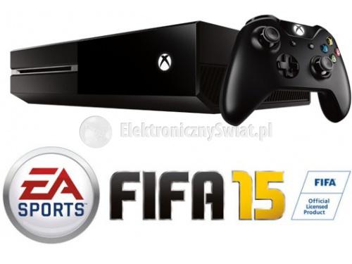 Xbox One (500GB) + Fifa 15 za 1419zł @ ElektronicznySwiat.pl