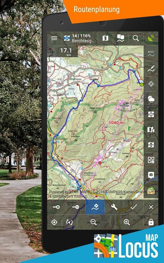 Locus Map PRO - świetna nawigacja turystyczna!