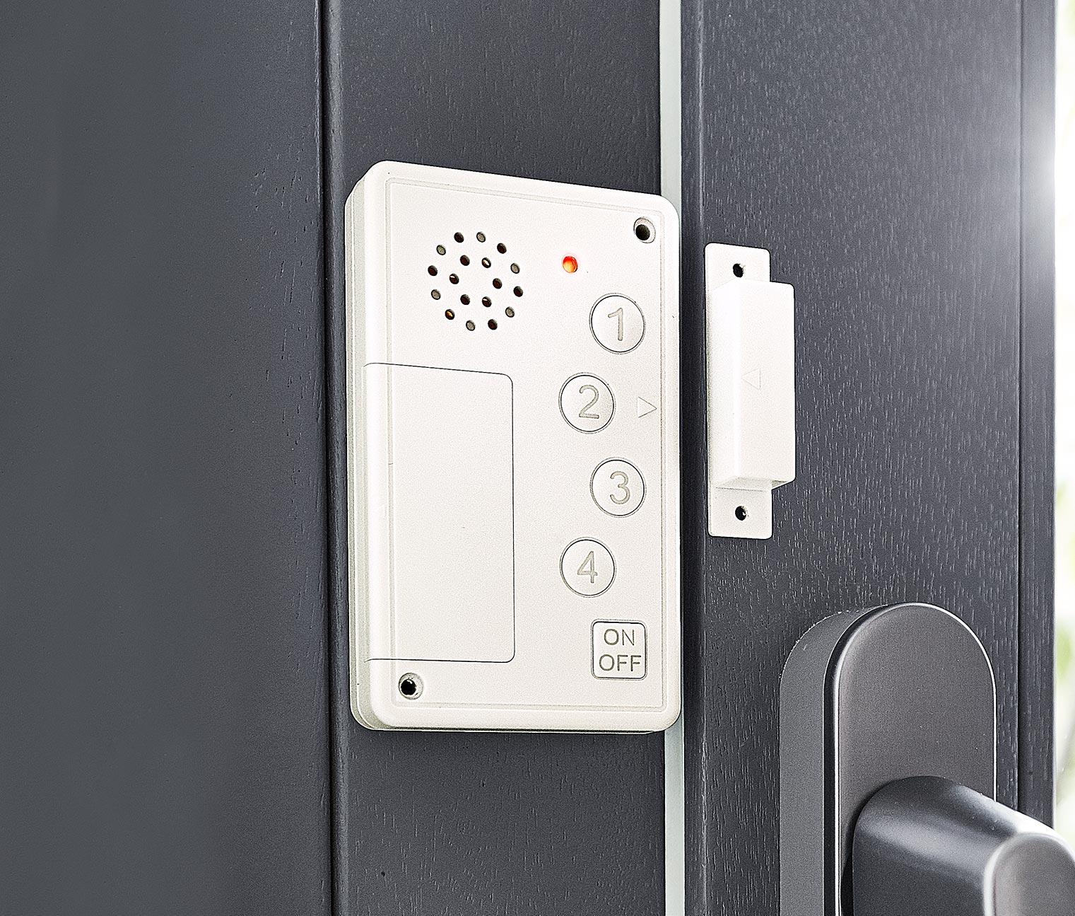 Alarm z kodem do okien i drzwi za 19,49zł z dostawą w Tchibo