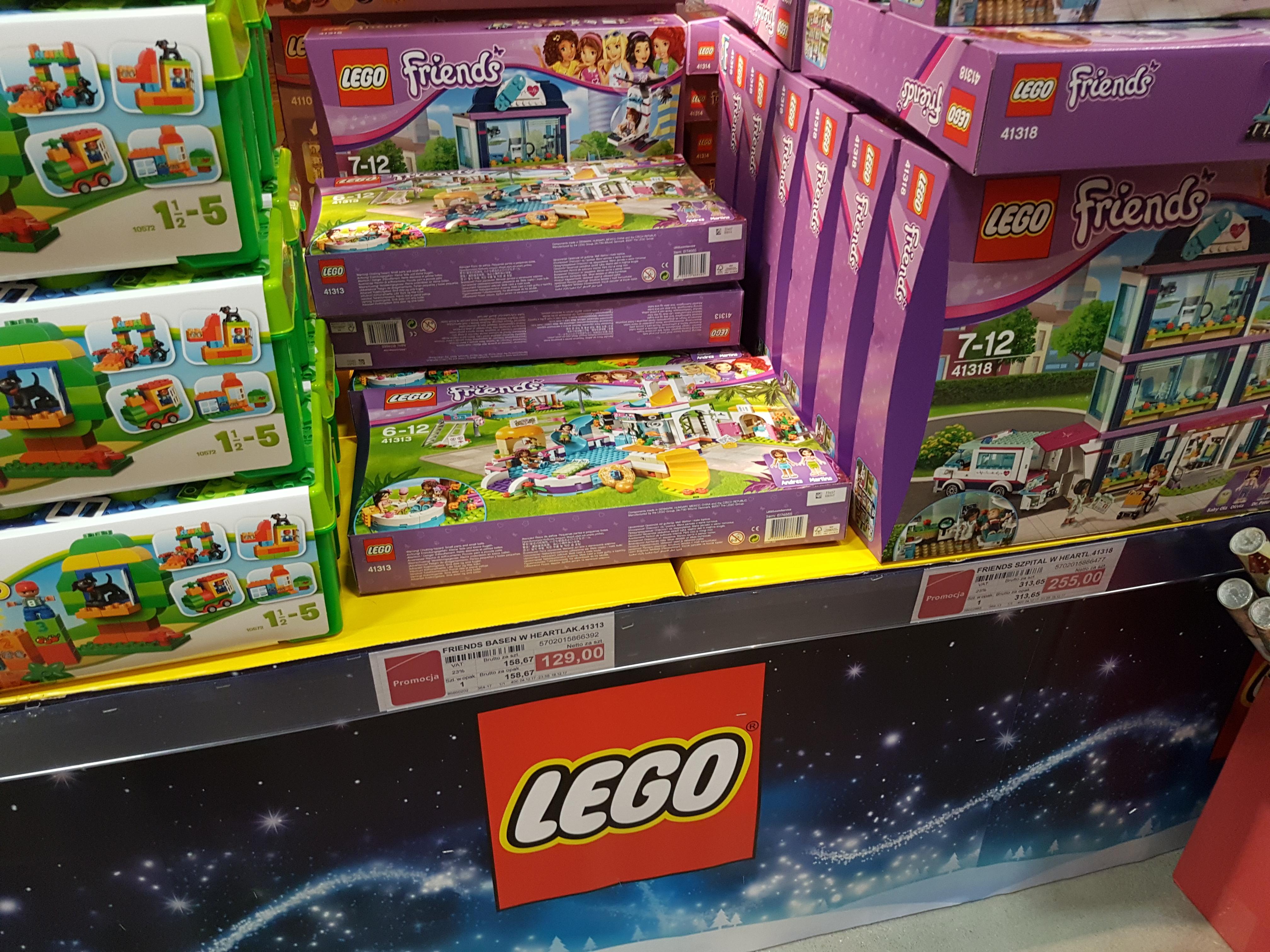 Lego Basen w Heartlake i inne i swietnych cenach