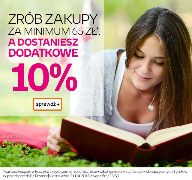 10% rabatu na książki @ Empik.com