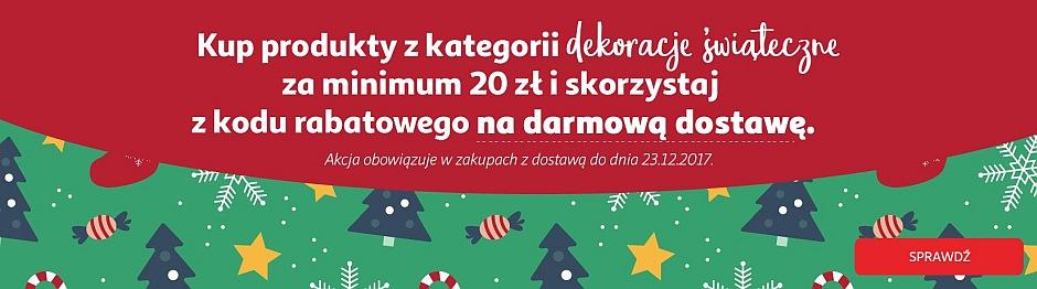 Auchan Direct - darmowa dostwa przy zakupie artykułów świątecznych za min 20 zł.