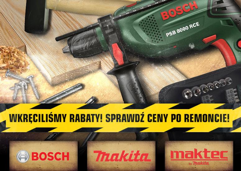 profesionalne elektronarzędzia Bosch, Makita oraz Maktec nawet 50% taniej @ Redcoon