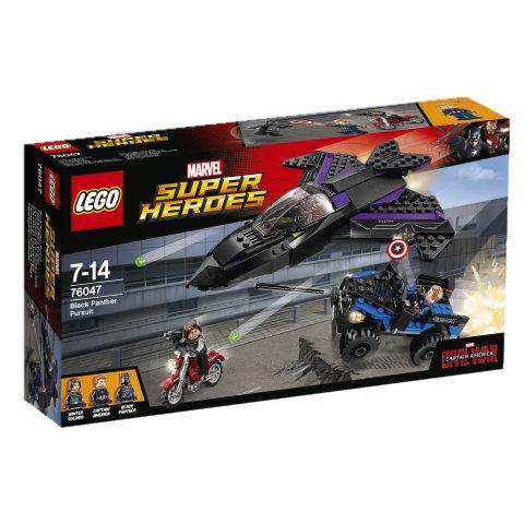 LEGO Super Heroes 76047 - Pościg Czarnej Pantery (-35%) eMAG