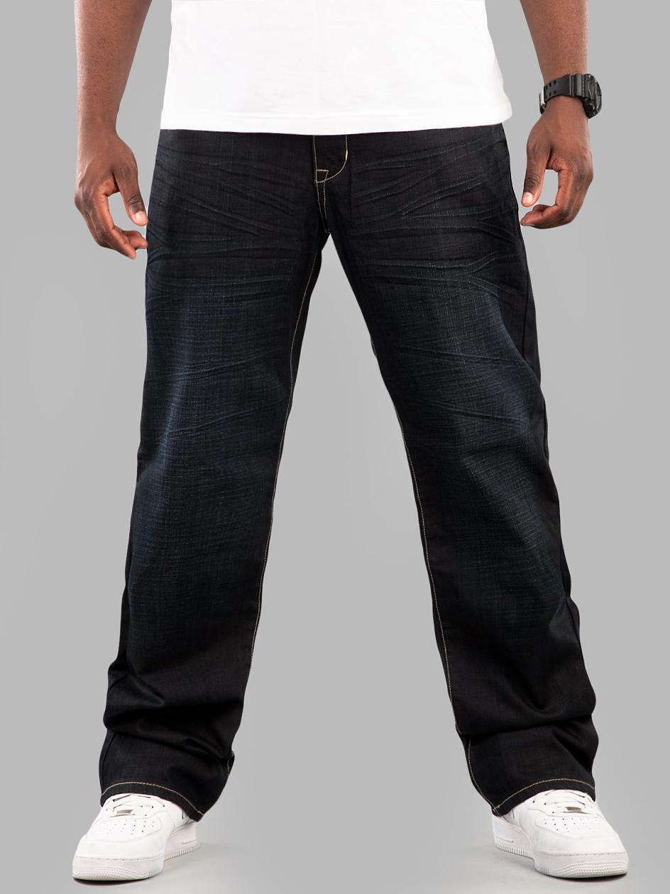 Spodnie Phat Farm Basic PF Super Blue Wrinkle