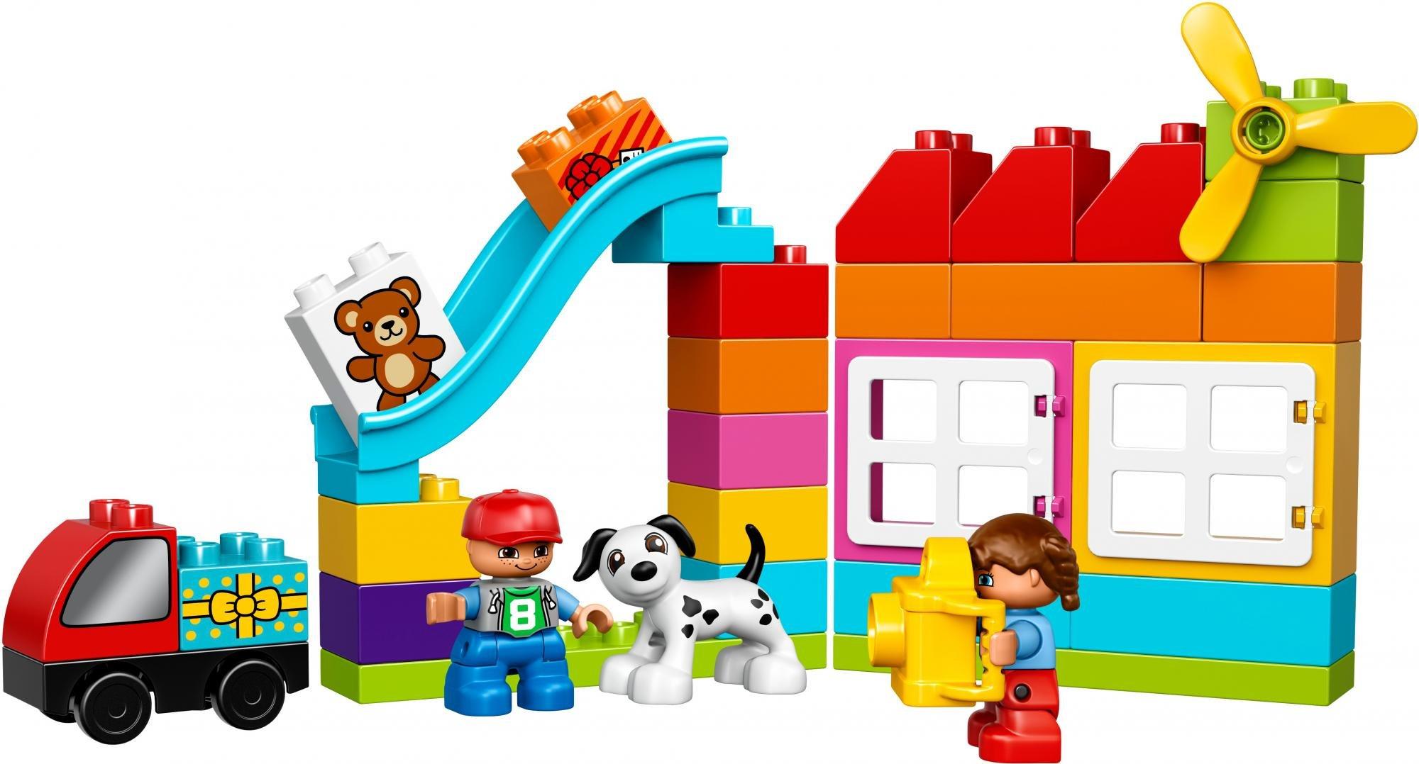 LEGO Duplo 10820 - Zestaw kreatywnego budowniczego - MALL