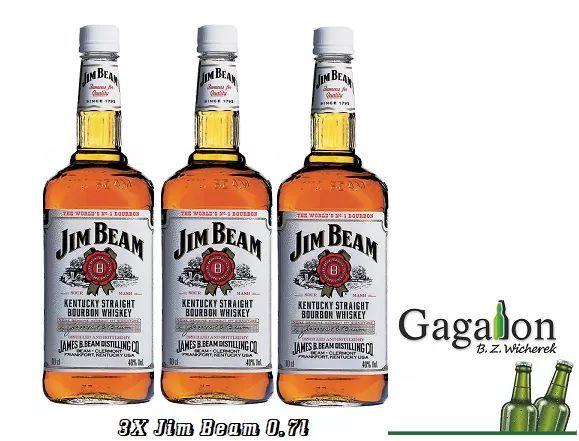 3x Jim Beam 0.7 @Gagalon