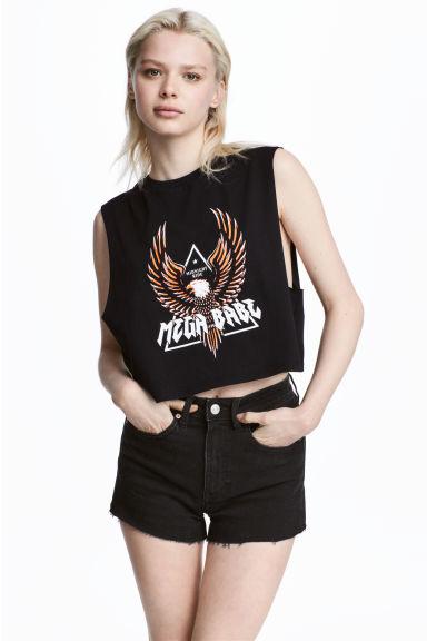 Krótka koszulka H&M
