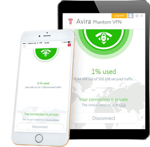 Avira Phantom VPN Pro 1 rok licencji za Free