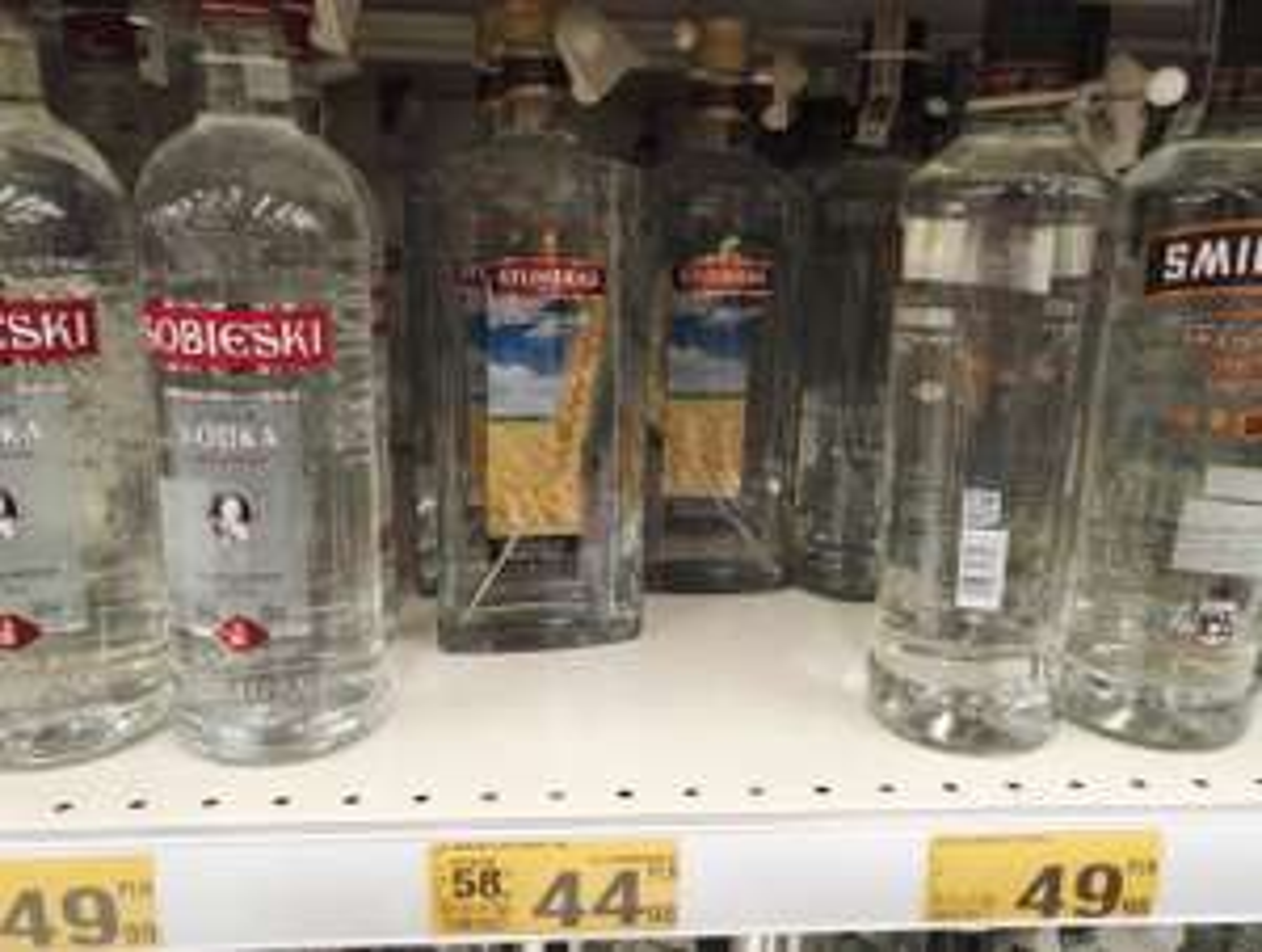 STUMBRAS wódka z kłosem 40% 1l - Auchan Radom