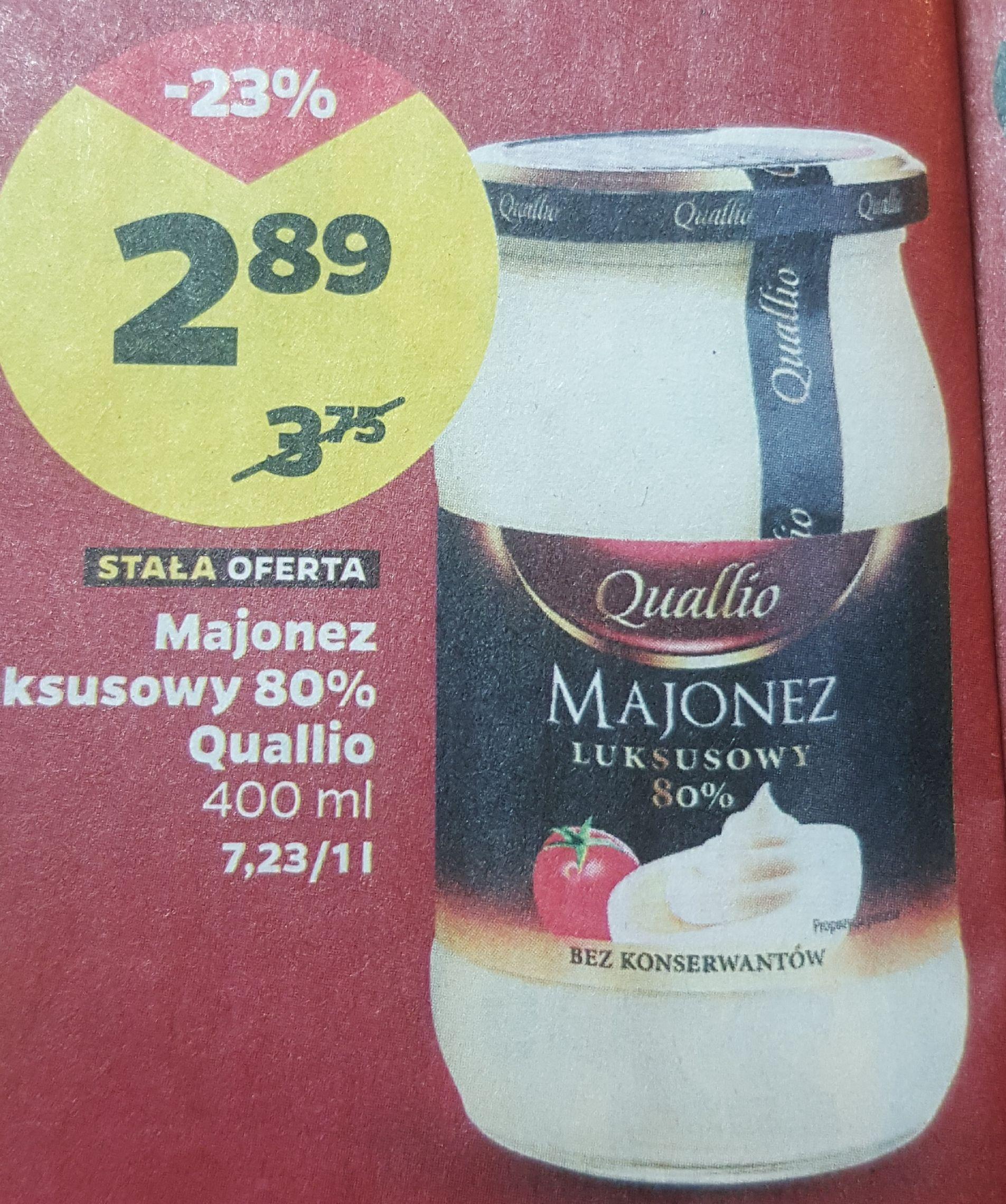 Majonez luksusowy 80% Quallio 400ml w Netto