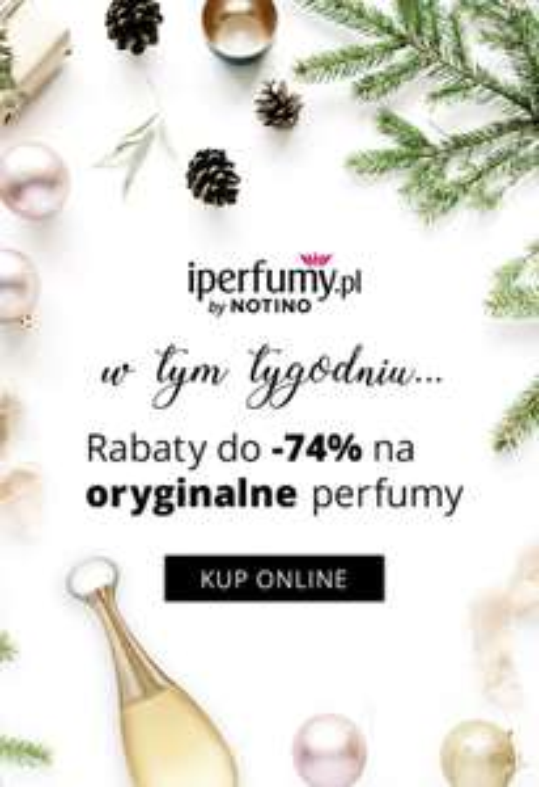 Nawet do -74% na perfumy! - iperfumy.pl