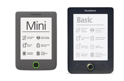 Czytniki książek PocketBook: Mini, Basic, Touch oraz Touch Lux nawet 50% taniej! @ Świat Książki