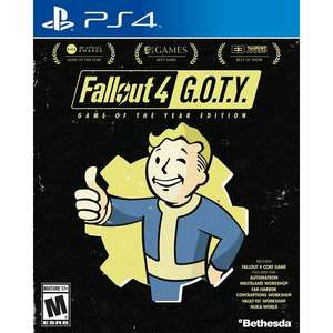 Fallout 4 [Game of the Year Edition], PS4, US w pudełku z Chin