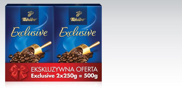 Kawa mielona Tchibo Exclusive 500g za 14,99zł @ Biedronka