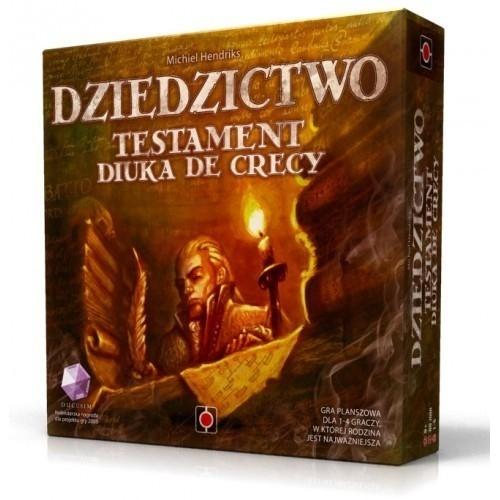Gra planszowa Dziedzictwo: Testament Diuka de Crecy i inne @ czytam.pl