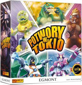 Potwory w Tokio, gry planszowe, książki i komiksy do 60% w EGMONT