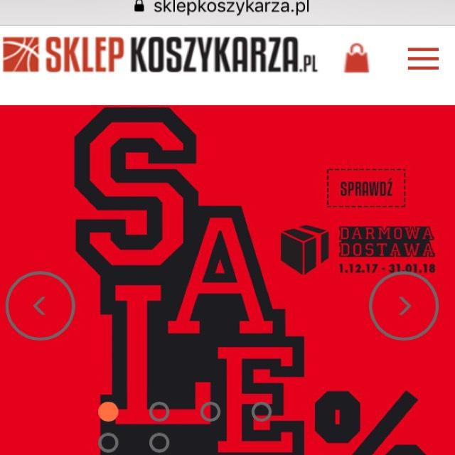 Wyprzedaż na sklepkoszykarza.pl