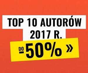 Ebooki w Publio: Top 10 Autorów 2017 roku  do -50%