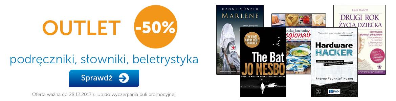 -50% na wybrane książki @ Księgarnia PWN
