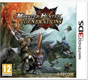 Monster Hunter Generations [Nintendo 3DS] za ~101zł z wysyłką @ Amazon (IT)