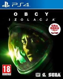 Obcy Izolacja: Edycja Nostromo PL (Alien Isolation) na Playstation 4 za 108,90zł @ Ultima