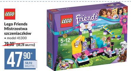 Wyprzedaż zabawek do -80%: Lego Friends Mistrzostwa szczeniaczków 41300 za 59zł, Nerf za 33zł @ Makro