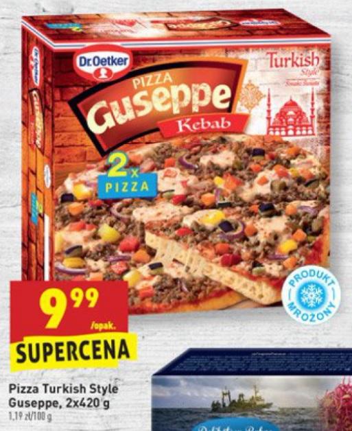 Pizza 2 x Guseppe Kebab @Biedronka