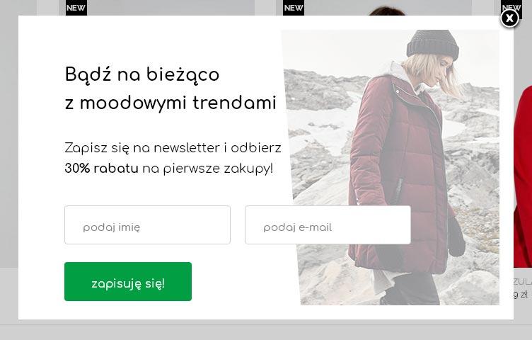 Rabat 30% na pierwsze zakupy w MOODO