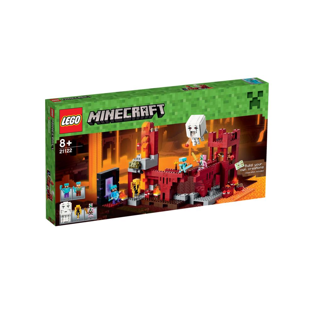 Lego Minecraft - Forteca Netheru 21122 @Selgros.pl