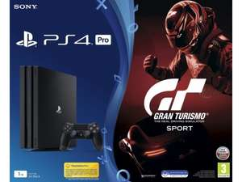 Sony Playstation 4 Pro 1TB + Gran Turismo Sport + Drugi pad  -59zł